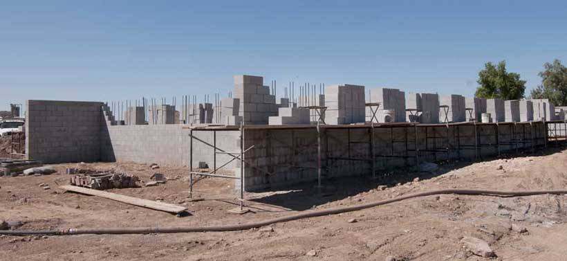 PHOENIX PAVER MFG. New Plant Construction Progress Photos: Materials Storage Structures
