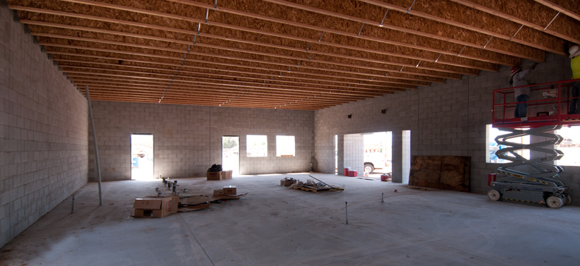 PHOENIX PAVER MFG. New Plant Construction Progress Photos: Sales Offices – Interior