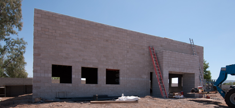 PHOENIX PAVER MFG. New Plant Construction Progress Photos: Sales Offices