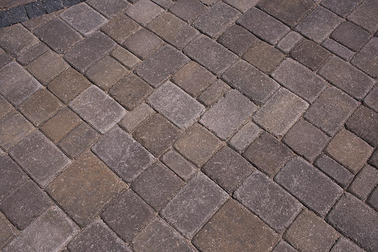 Territorial Blend, Sandard 2-pc in K Pattern ( J ) - Paver Samples Yard