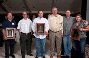 Phoenix Paver Staff at awards dinner 2012