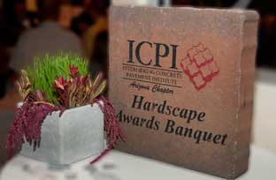 ICPI Interlocking Concrete Paver Awards Entrance