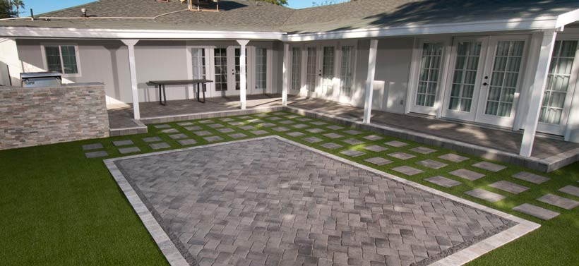 Visit the Paver Projects Gallery on this website. Cick on image.